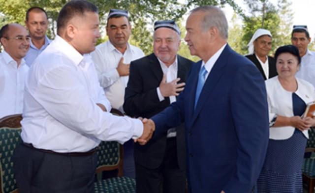 Ўзбекистон Президенти Фарғонада