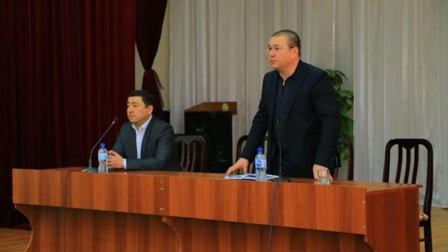 Бюро директори Б.Б.Кудратходжаев Навоий вилоятида сайёр қабул ўтказмоқда.