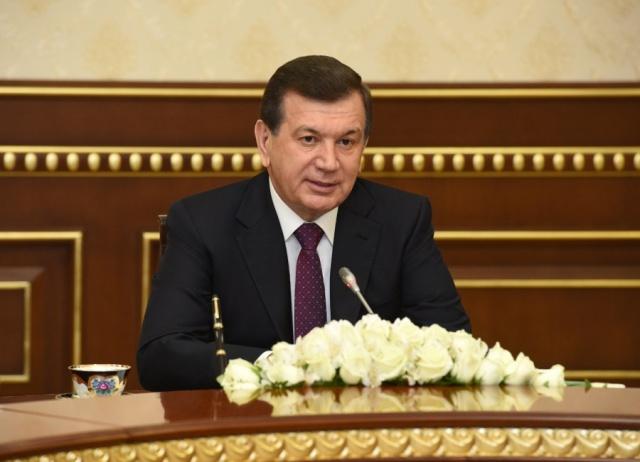 Ўзбекистон Президенти «Газпром» компанияси бошқаруви раисини қабул қилди